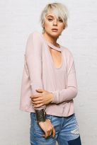 American Eagle Outfitters Don't Ask Why Plush Choker Sweater