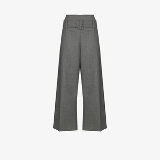 Marni Paper Bag Waist Wool Trousers