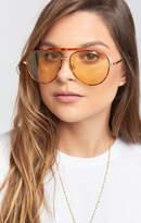 MUMU Crap Eyewear ~ The Road Cure Sunglasses ~ Tort/Gold Lens
