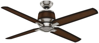 "Casablanca 54"" Aris Brushed Nickel Ceiling Fan With Wall Control"