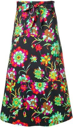 La DoubleJ long A-line skirt