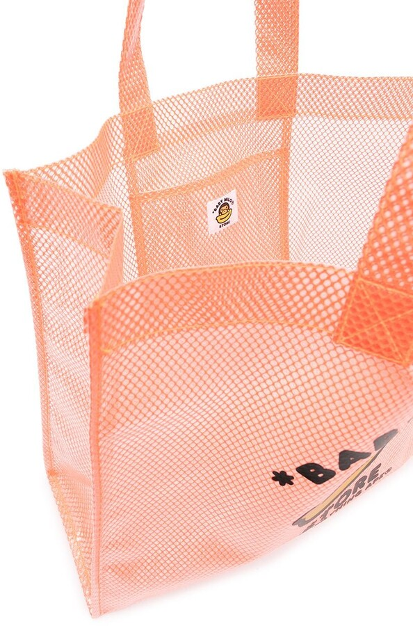 Thumbnail for your product : *Baby Milo® Store By *A Bathing Ape® Logo-Print Tote Bag