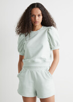 Thumbnail for your product : And other stories Frill Pocket Fleece Shorts