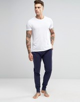 Paul Smith Cuffed Joggers In Regular Fit Navy