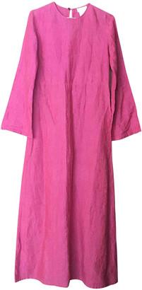 agnès b. Pink Linen Dress for Women Vintage