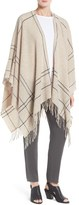 Eileen Fisher Women's Graph Print Wool Blend Twill Serape