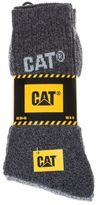 Caterpillar New Mens Multi 3 Pack Boot Cotton/Polyester Socks