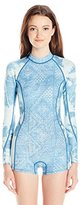 Billabong Women's Spring Fever Long Sleeve One Piece Swimsuit
