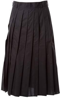 Sofie D'hoore Sofie Dhoore Black Cotton Skirts