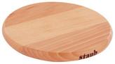 "Staub 6"" Round Magnetic Wood Trivet"