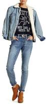 Seven7 Rhinestone Detail Skinny Jean