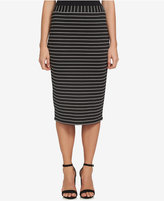 1 STATE 1.STATE Striped Pencil Skirt