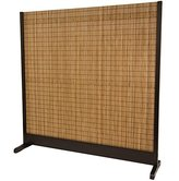 Oriental Furniture Extra Large Size Divide, 76-Inch Tall Take Japanese Style Single Panel Partition Room Divider