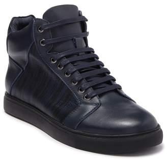 Badgley Mischka Jack High-Top Leather Sneaker