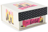 tri coastal Be Bold Square Tab Storage Box