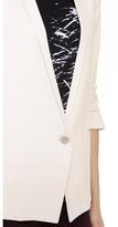 Helmut Lang HELMUT Prime Scrunched Sleeve Blazer
