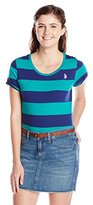U.S. Polo Assn. Junior's Wide Stripes T-Shirt