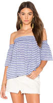 Rails Isabelle Off Shoulder Top in Blue