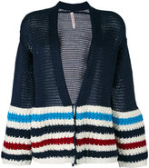 Antonio Marras striped cardigan - women - Cotton/Spandex/Elastane - S