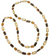 18K Gold-Plated Silver Multi-Gem Necklace by Ax Jewelry