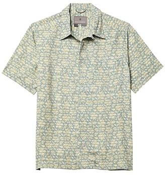 Royal Robbins Comino Short Sleeve Shirt (Arctic Blue) Men's Clothing