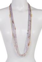 Joe Fresh Multi Row Beaded Necklace