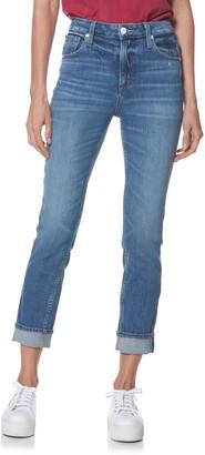 Paige Sarah High Waist Straight Slim Leg Jeans