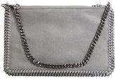 Stella McCartney Grey Shaggy Deer Falabella Clutch