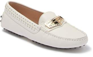 Tod's Gommini Mascherina Infilature Leather Penny Loafer