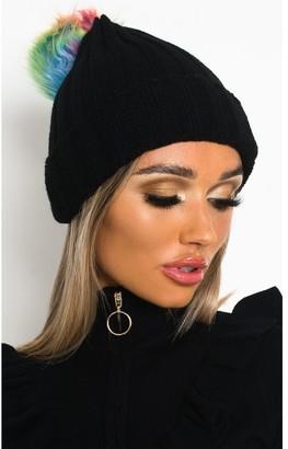 Ikrush Sam Knitted Pom Pom Beanie Hat