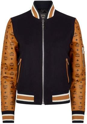 MCM Visetos Print Rider Jacket