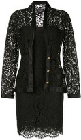 Chanel Pre Owned setup suit jacket dress