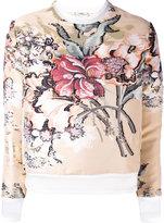 Fendi - layered floral top - women -