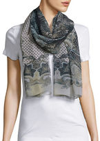Collection 18 Sheer Paisley Scarf