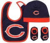 Gerber Baby Chicago Bears 3-Piece Cap, Bootie, & Bib Set