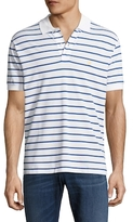 Brooks Brothers Striped Slim Fit Cotton Polo