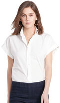 Polo Ralph Lauren Roll-Sleeve Poplin Shirt