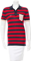 Marc Jacobs Striped Cashmere Top
