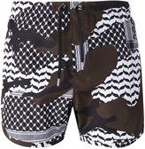 Neil Barrett printed swim shorts - men - Polyester - S