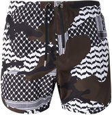 Neil Barrett printed swim shorts - men - Polyester - XL