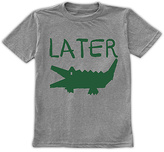 Urban Smalls Heather Gray 'Later Gator' Tee - Toddler & Boys