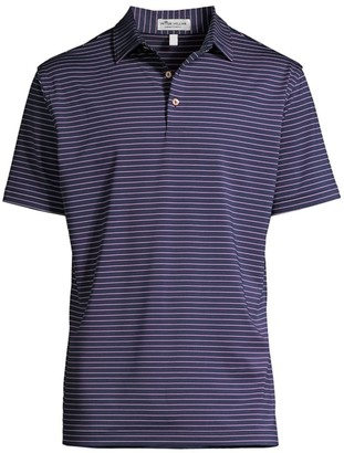 Peter Millar Crafty Stripes Jersey Polo