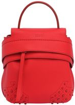 Tod's Mini Wave Leather Backpack