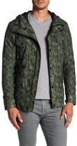 Belstaff Aberford Camo Leather Trim Jacket