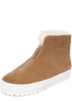 Derek Lam 10 Crosby Lara Shearling Zip Sneakers