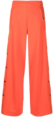 adidas High-Rise Wide-Leg Trousers
