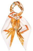 Hermes Rocaille Square Scarf