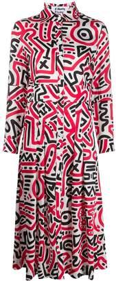 Études Attraction Keith Haring shirt dress