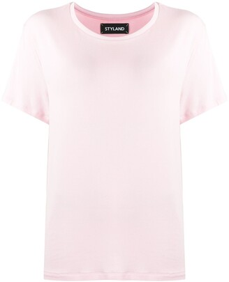 Styland plain basic T-shirt