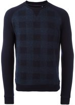 Woolrich checked sweater